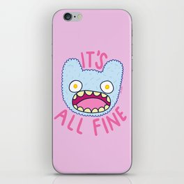 It's All Fine iPhone Skin