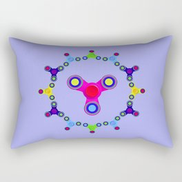 Fidget Spinner Design version 1 Rectangular Pillow