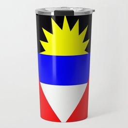 Flag of Antigua and Barbuda Travel Mug
