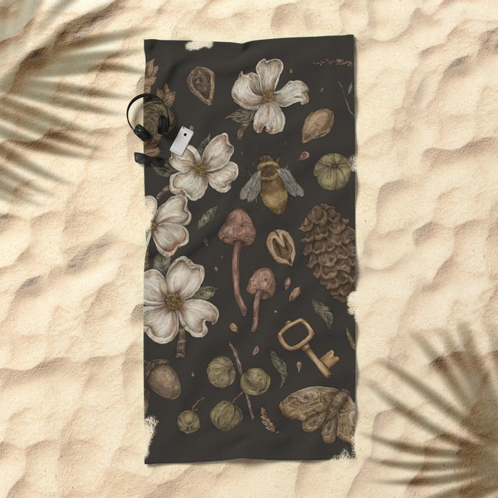 Nature Walks Beach Towel
