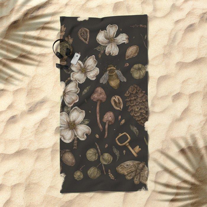 Nature Walks Beach Towel
