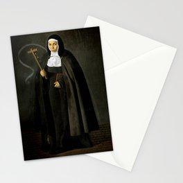 """Diego Velázquez """"Madre Jerónima de la Fuente"""" Stationery Cards"""