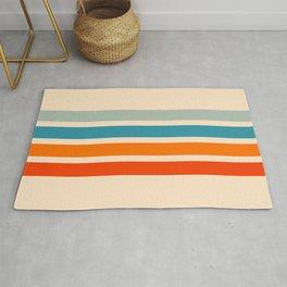 Tadakatsu - Classic Retro Stripes Rug