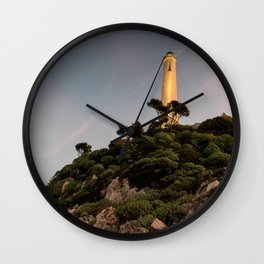 Sunset at the Phare Wall Clock