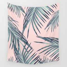 Blush Palm Leaves Dream #1 #tropical #decor #art #society6 Wall Tapestry