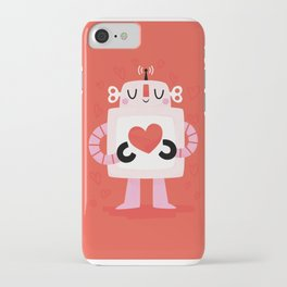 Love Robot iPhone Case