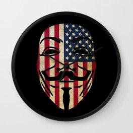 Anonymous USA Wall Clock