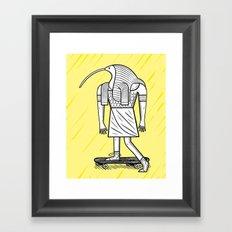 EGYPTiAN GODZ  ~ THOTH Framed Art Print