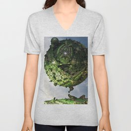 Dreaming of a Treehoue Unisex V-Neck