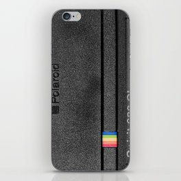 Polaroid Spirit 600 CL, black iPhone Skin