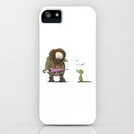 You're a lizard Harry. iPhone Case