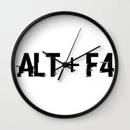ALT + F4 Wall Clock