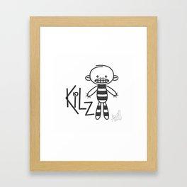 kilz Framed Art Print