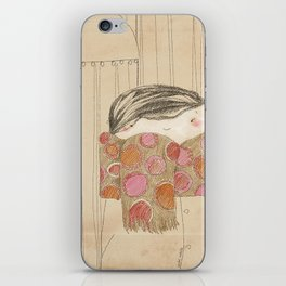 "Luisa. ""Bufandas"" Collection iPhone Skin"