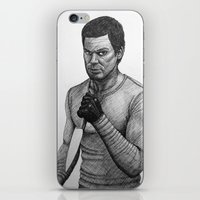 dexter iPhone & iPod Skins featuring Dexter by Jack Kershaw