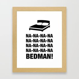 Bedman Framed Art Print