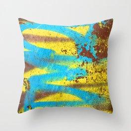 Graffiti Street Art Modern Abstract Design Throw Pillow