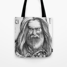 Father Time by Kate Morgan Tote Bag