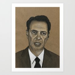 Steve Buscemi Art Print