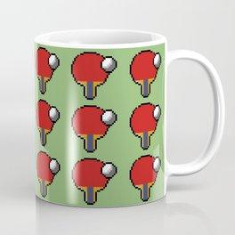 Ping pong pixelation Coffee Mug