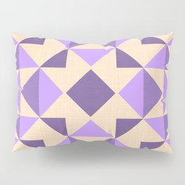 PURPLE AZTEC GEOMETRY Pillow Sham