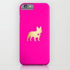 French Bulldog Gold Slim Case iPhone 6s