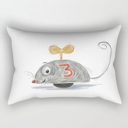 Wheel Mouse Rectangular Pillow