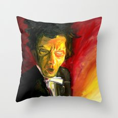 Mr. Waits Throw Pillow