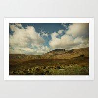 irish Art Prints featuring Irish Skies by Sharon Johnstone