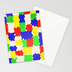 Messy Mosaic Stationery Cards
