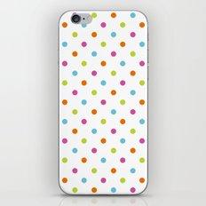 Fun Dots multi-coloured iPhone & iPod Skin