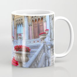 Ciragan Palace Istanbul Red Carpet Coffee Mug
