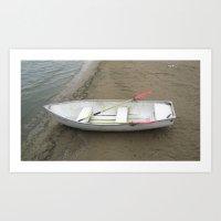 Life Boat Art Print