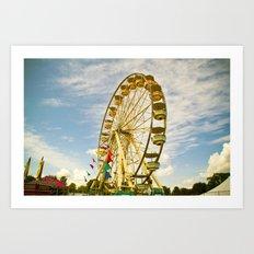 Armada Ferris Wheel Art Print