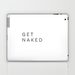 Bathroom Decor Printable Art Get Naked Bathroom Wall Art Nursery Decor Bathroom Poster Typography Qu Laptop & iPad Skin