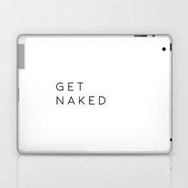 Bathroom Decor Printable Art Get Naked Bathroom Wall Art Nursery Decor Bathroom Poster Typography Qu Laptop & iPad Skin