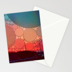 Red Modern Minimal Abstract Stationery Cards