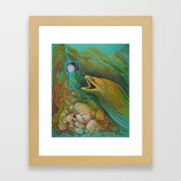 Naive Butterfly Framed Art Print
