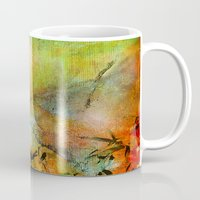 chinese Mugs featuring Chinese landscape by Ganech joe
