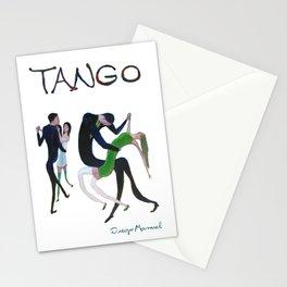 Tango de gala 2 Stationery Cards