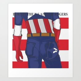 BORN IN THE USA Art Print
