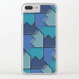 Geometrix 118 Clear iPhone Case
