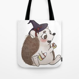 Prickly Witch Tote Bag
