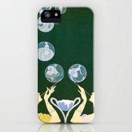 """1920's Art Deco Design """"Bubbles"""" iPhone Case"""