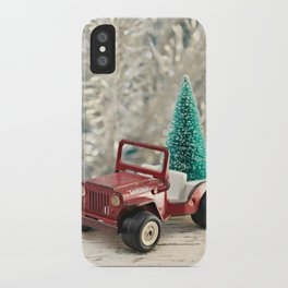 Tonka Christmas iPhone Case