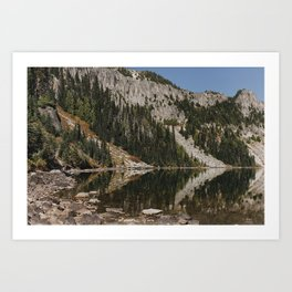 Eunice Lake II Art Print