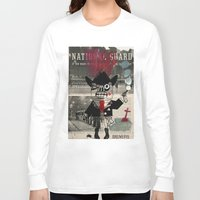 the national Long Sleeve T-shirts featuring national guard by Normunds Bruveris