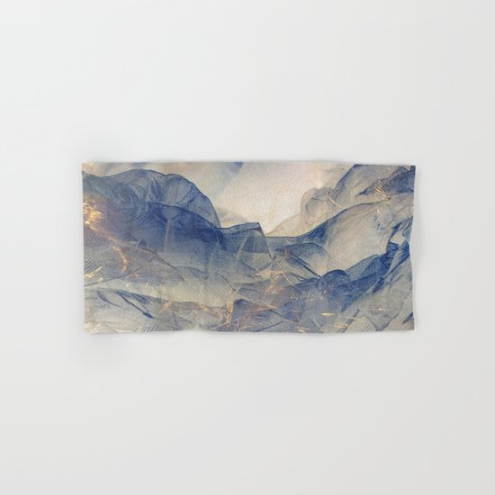 Tulle Mountains Hand & Bath Towel