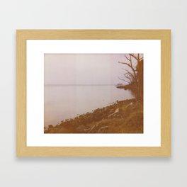Boat Dock Framed Art Print