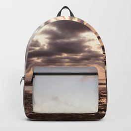 Clouds On The Water Backpack